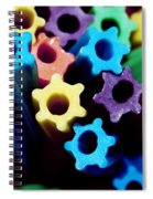 Eat-able Rainbow Spiral Notebook