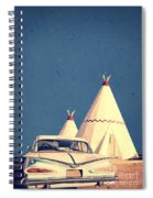 Eat And Sleep In A Wigwam Spiral Notebook
