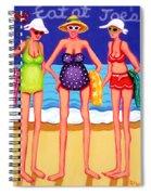 Eat At Joes - Beach Gossip Spiral Notebook