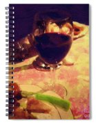 Eat Drink And Be Merry Spiral Notebook
