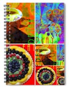 Eat Drink Play Repeat 20140705 Spiral Notebook