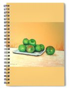 Eat Green Spiral Notebook