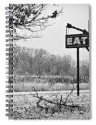 Eat Here Spiral Notebook