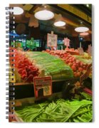 Eat Your Fruits And Vegetables Spiral Notebook