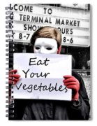 Eat Your Vegetables Spiral Notebook