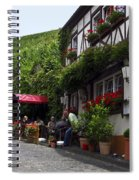 Eating By Vineyard Spiral Notebook