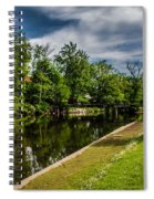 Eaton Rapids Island Park Spiral Notebook