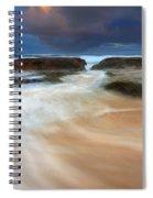 Ebb Tide Sunrise Spiral Notebook