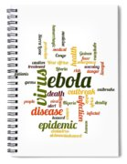 Ebola Spiral Notebook
