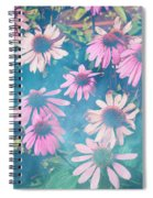 Echinacea Flowers Spiral Notebook