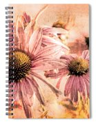 Echinacea Impressions  Spiral Notebook