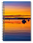 Echo Bay Sunset Spiral Notebook
