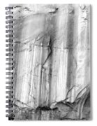 Echo Canyon Bw Spiral Notebook
