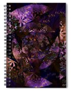 Echoes Through The Night Veil  Spiral Notebook