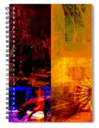 Eclectic Things Collage Spiral Notebook