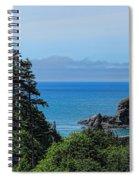 Ecola State Park Overlook  Spiral Notebook