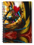 Ecstasy In Leather And Pearl Spiral Notebook