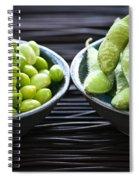 Edamame Spiral Notebook