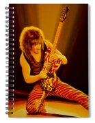 Eddie Van Halen Painting Spiral Notebook