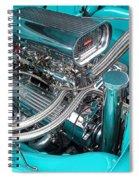 Edelbrock In A Chevy 3100 Hotrod Spiral Notebook