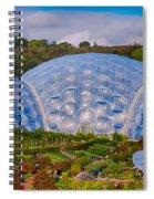 Eden Project Biomes Spiral Notebook