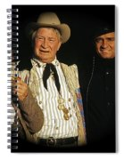Edgar Buchanan Chills Wills  Johnny Cash Porch Old Tucson Arizona 1971-2008 Spiral Notebook