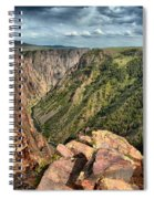 Edge Of The Black Canyon Spiral Notebook