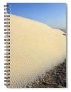 Edge Of The Dune Brazil Spiral Notebook