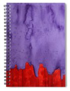 Edge Of The West Original Painting Spiral Notebook