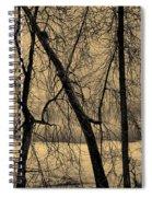 Edge Of Winter Spiral Notebook