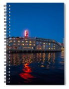 Edgewater The Big Red E Spiral Notebook