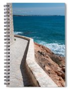Edgy Pathway Spiral Notebook