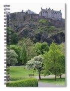 Edinburgh Castle 6493 Spiral Notebook