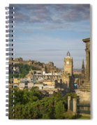 Edinburgh Sunrise Spiral Notebook