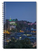 Edinburgh Twilight Spiral Notebook