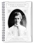 Edith Cavell (1865-1915) Spiral Notebook