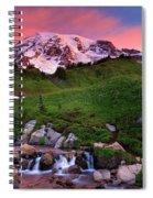 Edith Creek Sunrise Spiral Notebook