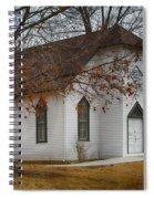 Edmonds Chapel 1891 Spiral Notebook