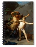 Education Of Achilles Spiral Notebook
