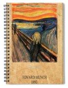 Edvard Munch 1 Spiral Notebook