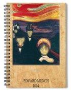 Edvard Munch 2 Spiral Notebook