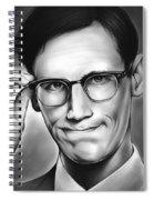 Edward Nygma Spiral Notebook
