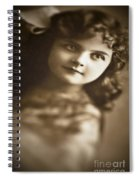Edwardian Young Girl Spiral Notebook