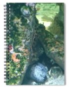 Eel Waiting To Snatch Something For Lunch Spiral Notebook