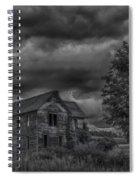 Eerie Spiral Notebook
