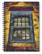 Eerie Window Spiral Notebook