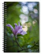 Effervescent Magnolia Spiral Notebook