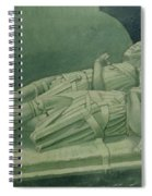 Effigies, Winchelsea Church Spiral Notebook