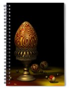 Egg And Marbles Spiral Notebook