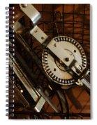Egg Beater In Basket Spiral Notebook